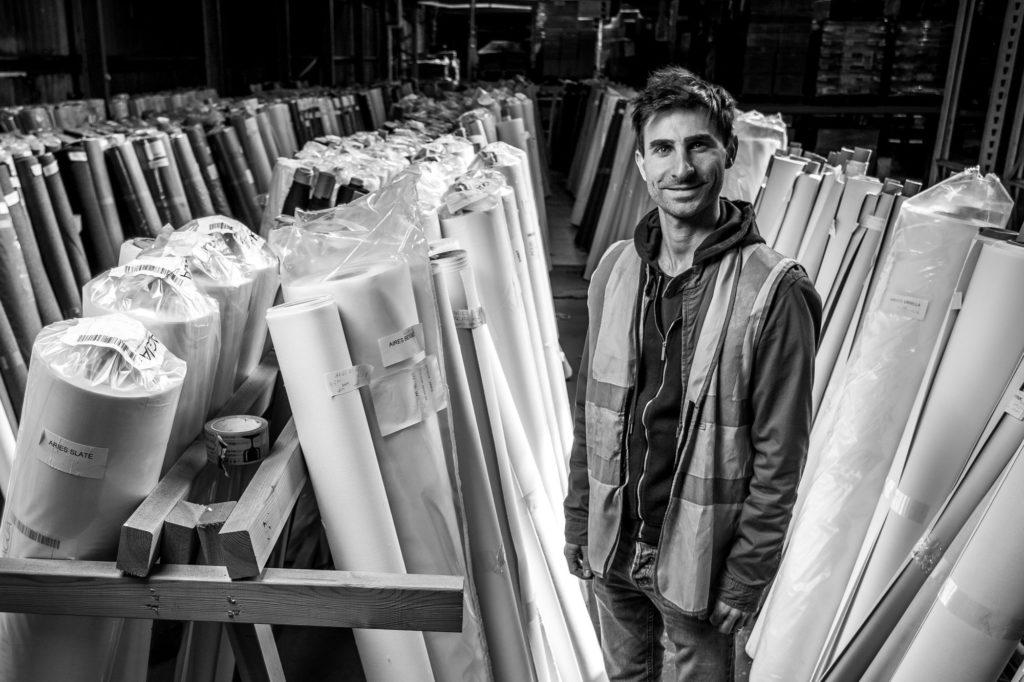Josh Ralton (4th Generation) at Agua warehouse in Romford Essex